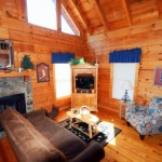 Cabins close to the Parkway of Pigeon Forge
